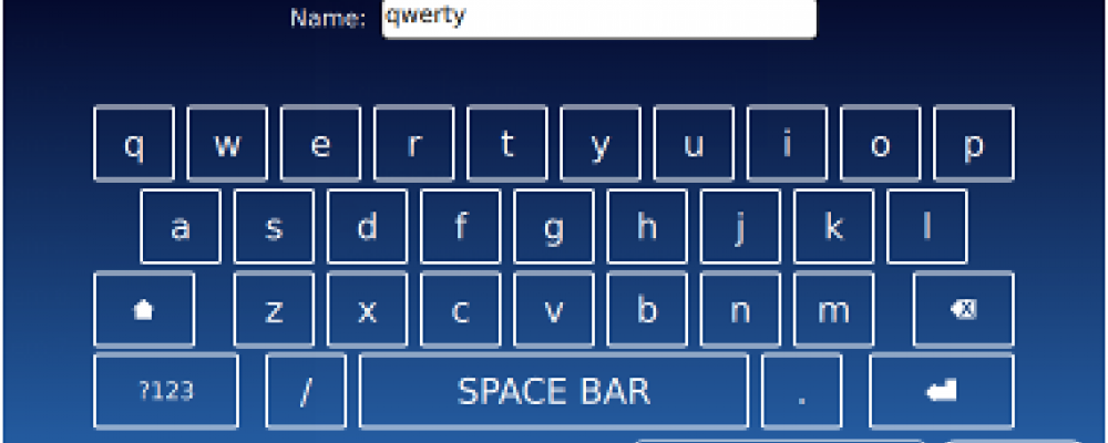 Alternatives for Virtual Keyboards.