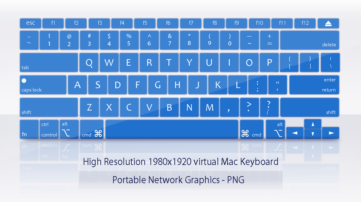 Mac virtual keyboard by janosch500 on DeviantArt.