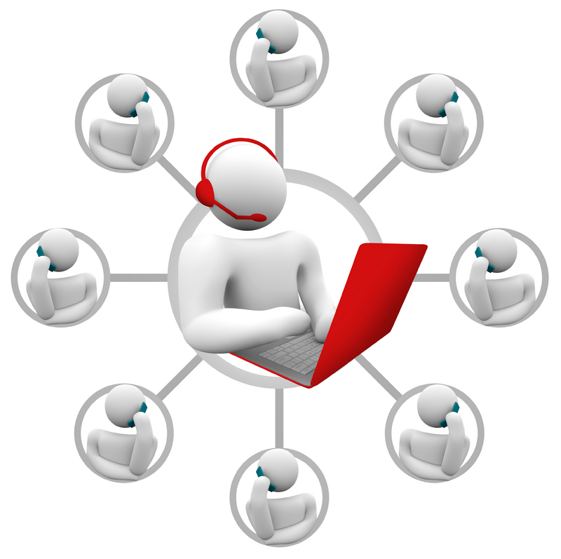 Conference clipart virtual team, Conference virtual team.