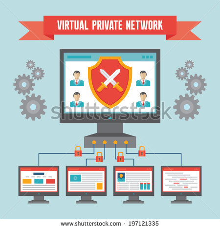 Virtual Private Network Stock Photos, Royalty.
