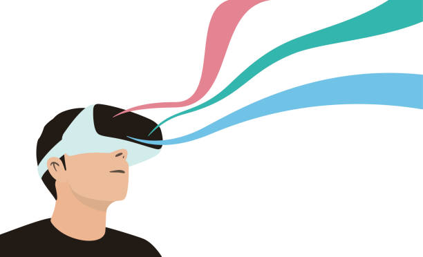 Best Virtual Reality Illustrations, Royalty.
