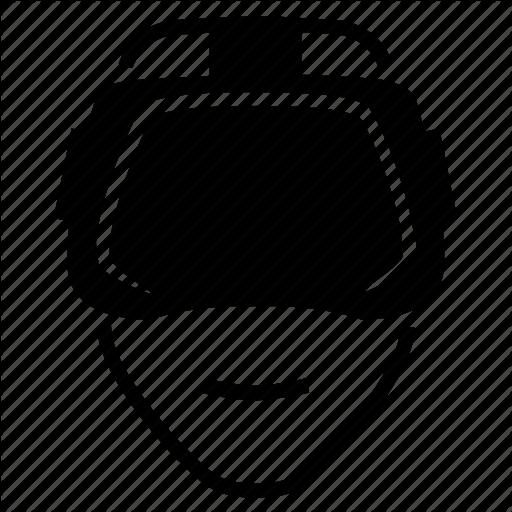Vr Headset Icon #161284.
