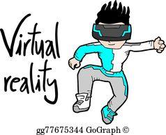 Virtual Reality Clip Art.