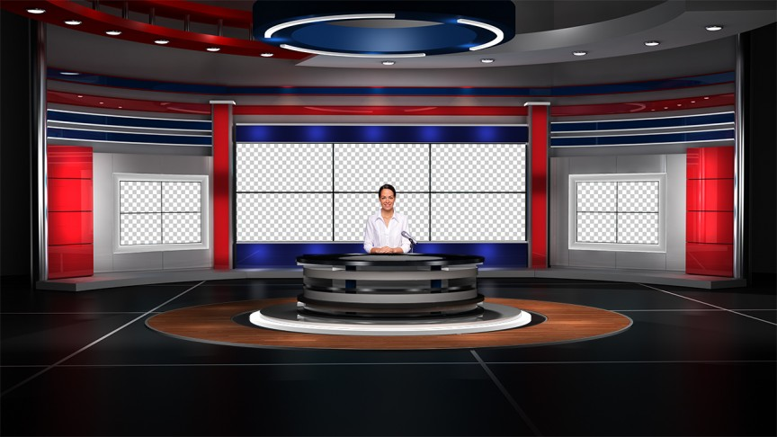virtual set studio tv 14.