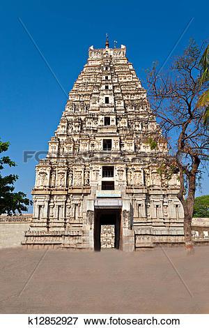 Picture of Virupaksha Temple, Hampi k12852927.