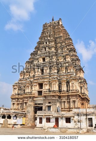 "virupaksha Temple Tower"" Stock Photos, Royalty."