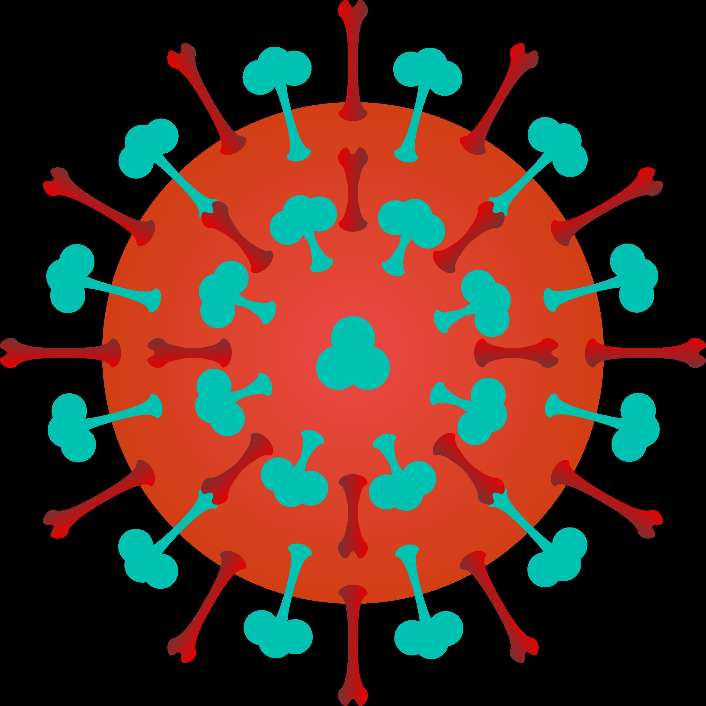 Virus clip art.