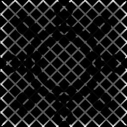 Virus Icon.
