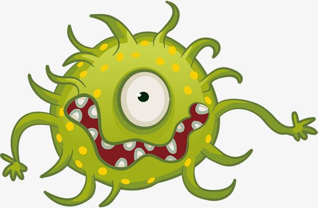 Horrible Virus, Horrible, Viruses, Mobile Virus Vector PNG and.