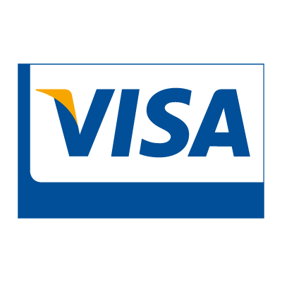 Visa Card vector logo download free.