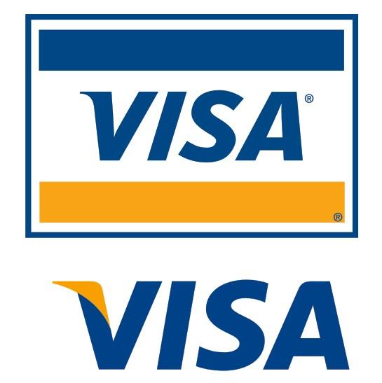 Visa Icon Vector #291899.