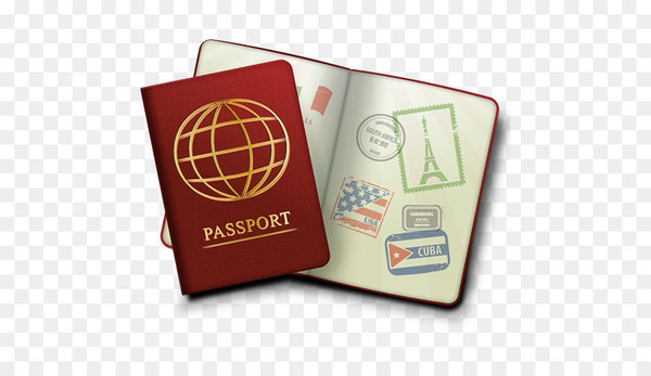 Passport stamp Travel visa Clip art.