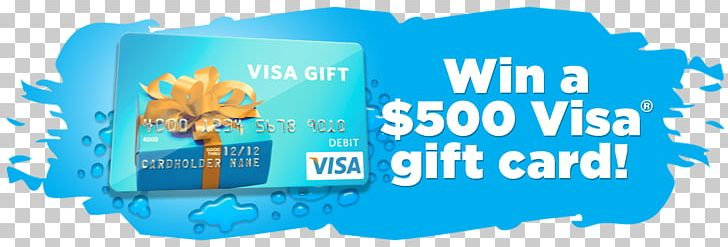 Credit Card Gift Card Visa Prize Bank PNG, Clipart, Aqua, Bank, Blue.