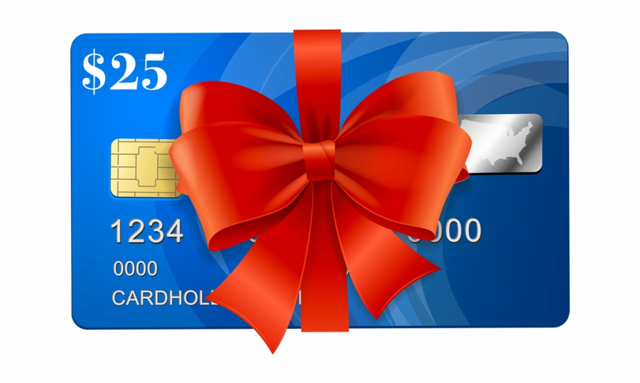 Visa Gift Card Png Transparent Background.