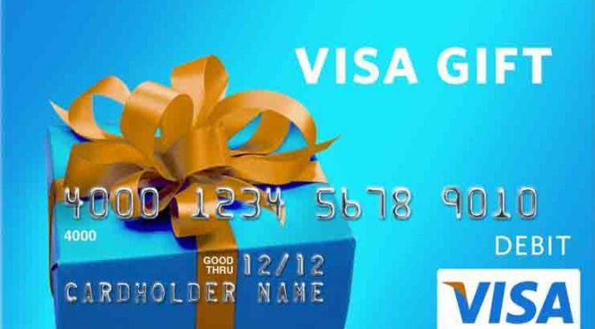 Win a $720 VISA Shopping Spree Giveaway at Totally Free Stuff.