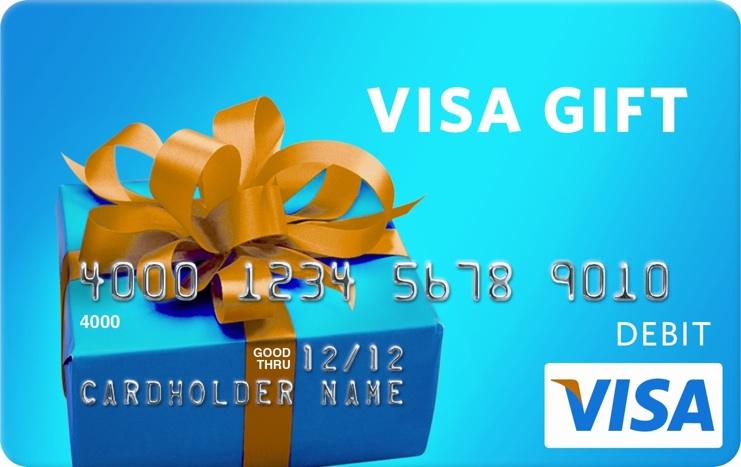 Visa Gift Card Png (+).