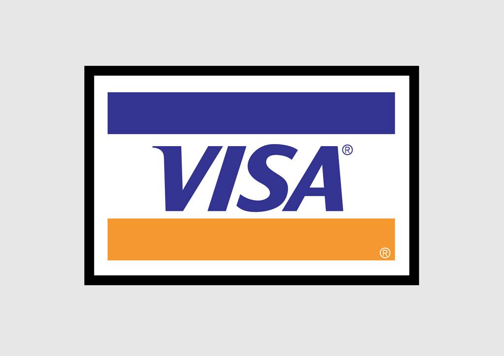Visa Logo Clip Art N5 free image.