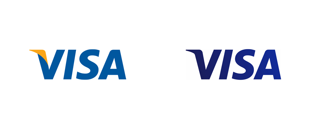 Brand New: New Logo and Brand Positioning for Visa.