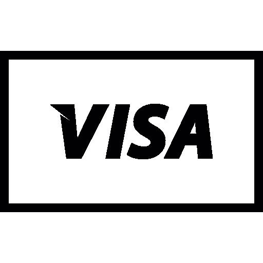 Visa logo Icons.