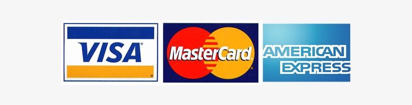 Visa Mastercard Amex.