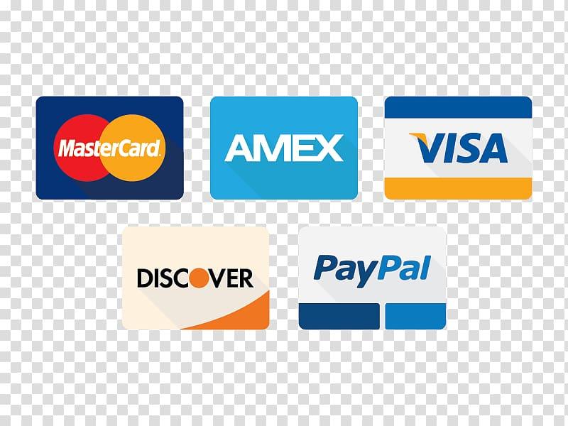 Visa MasterCard logos, Mastercard Discover Card Payment.