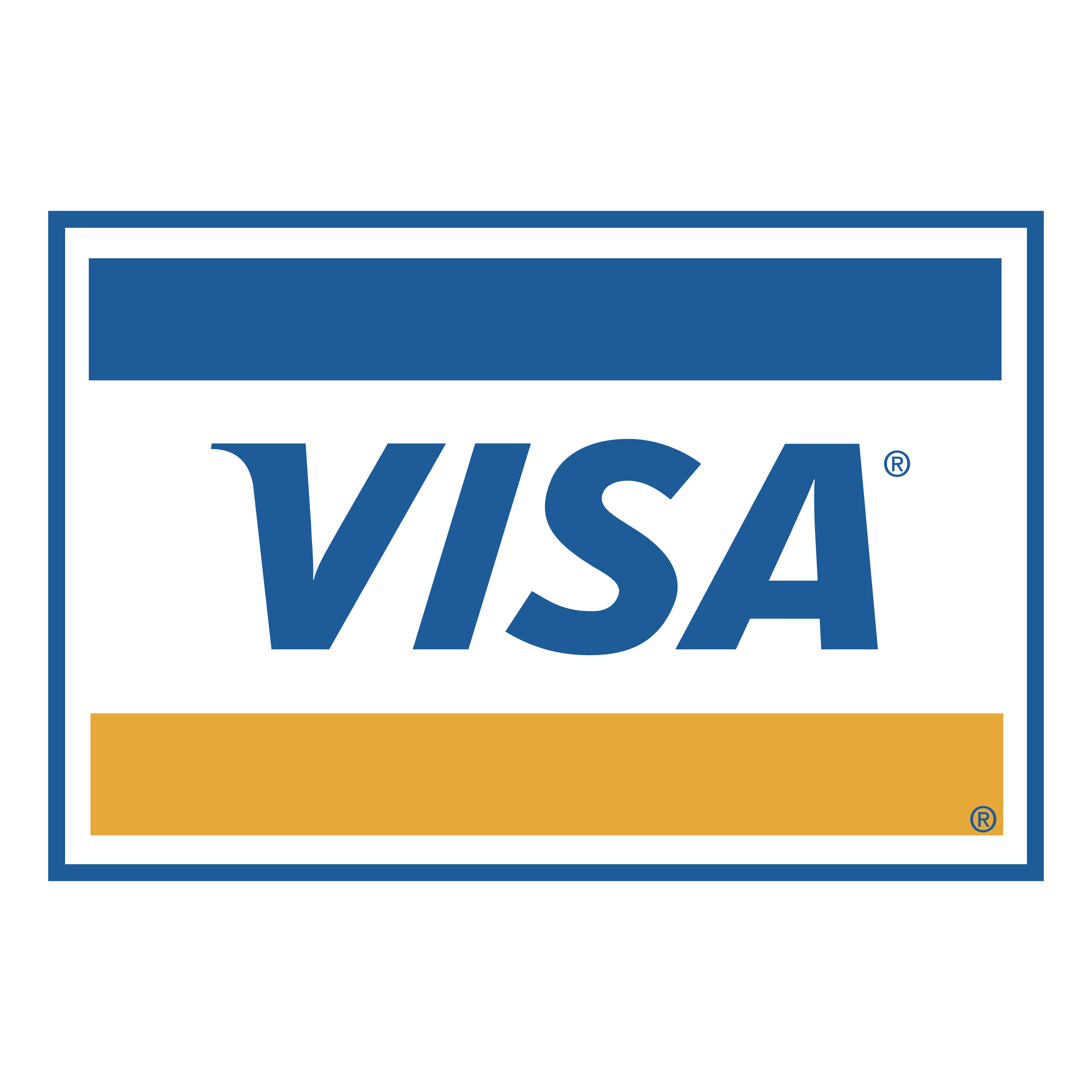 VISA Logo PNG Transparent & SVG Vector.