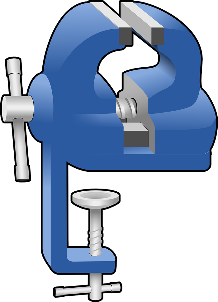 Free Bench Vise Clip Art.