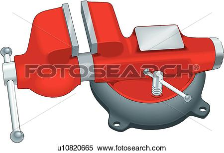 Clipart of Vise u10820665.