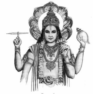 Vishnu Bhagwan Clipart.