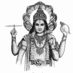 Vishnu Clipart.