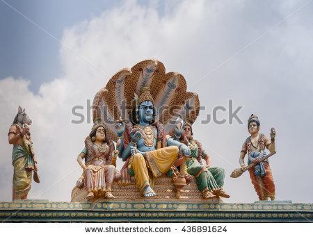 Vishnu Stock Photos, Royalty.