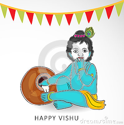 Vishu Stock Illustrations.