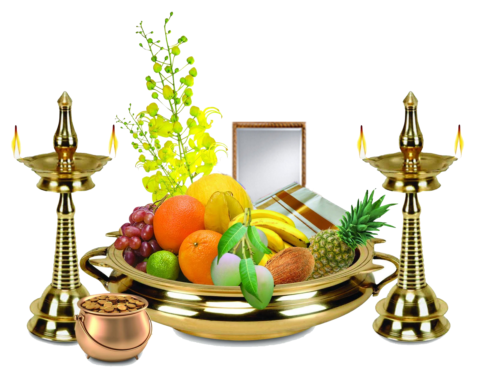 Happy Tamil New Year / Vishu.