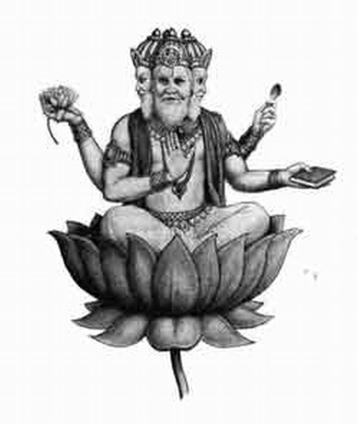 Lord vishwakarma clipart black and white » Clipart Station.