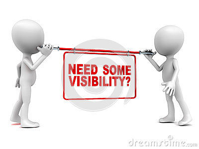 Visibility clipart.