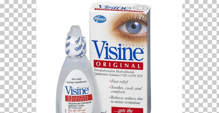 Visine Advanced Redness + Irritation Relief Eye Drops.