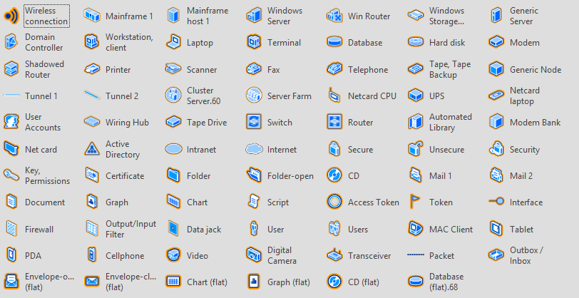 Download Even More Free Visio Network Stencils.