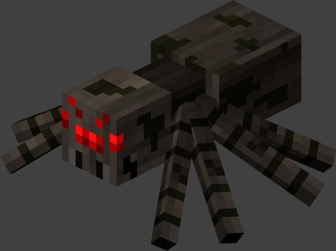 Minecraft Spider Mob Wiki.