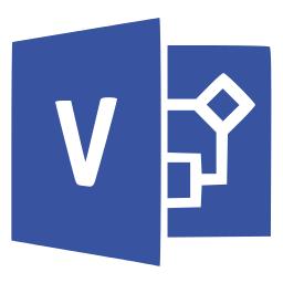 Microsoft Visio Logo.