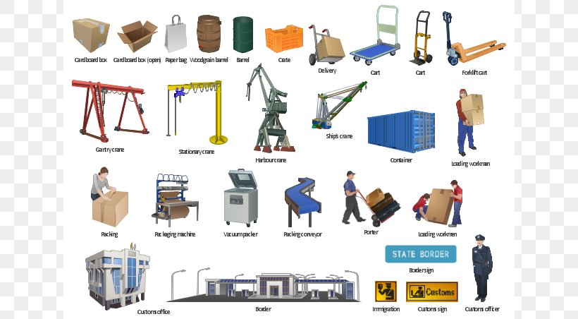 Manufacturing Factory Industry Clip Art, PNG, 640x452px.