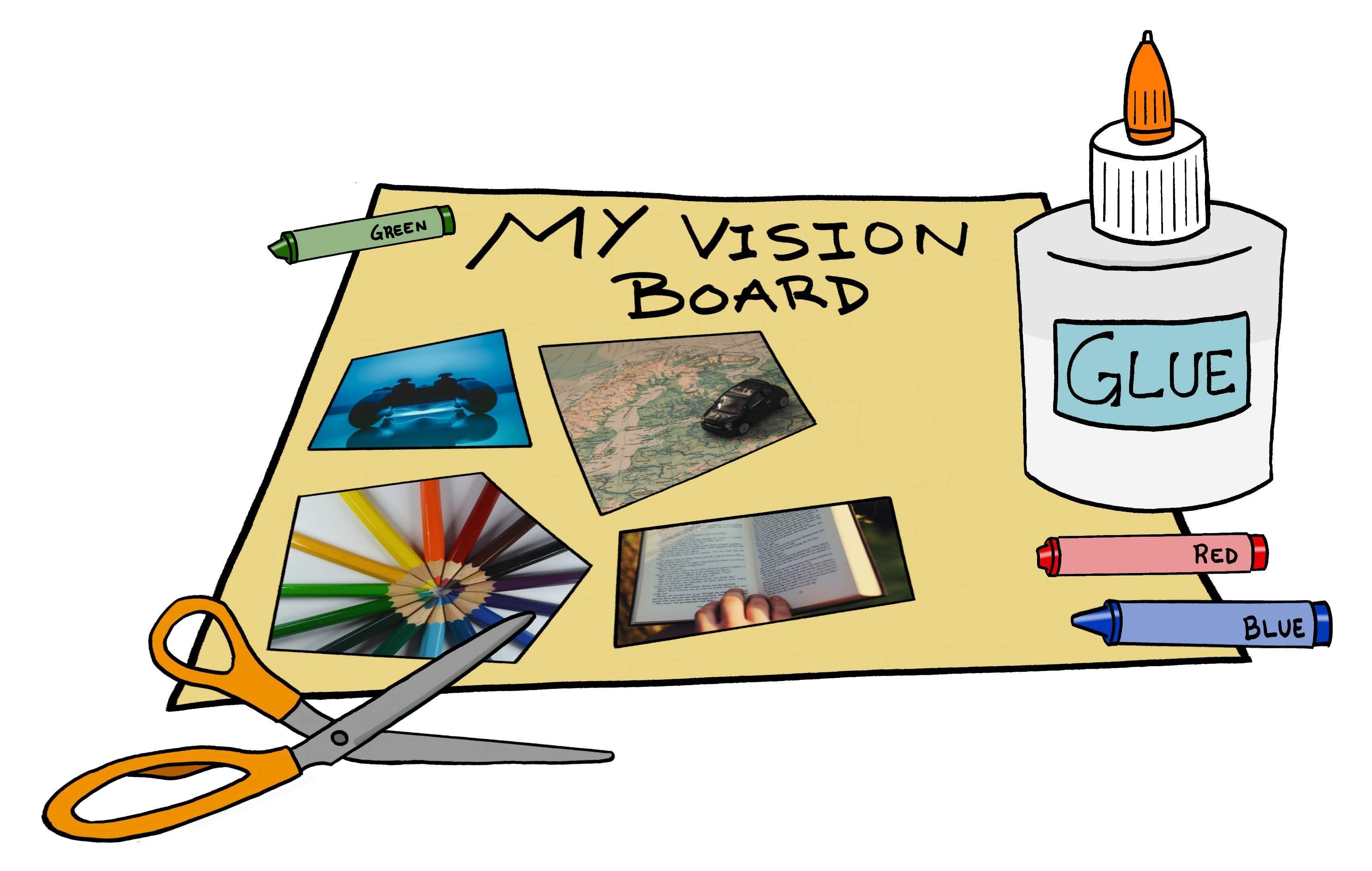 Vision board clipart 3 » Clipart Portal.