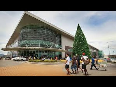 PAPUA NEW GUINEA, VISITING the SHOPPING MALL of VISION CITY (PORT MORESBY).