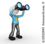 Binocular vision Clip Art and Stock Illustrations. 776 binocular.