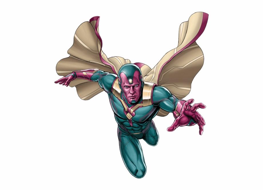 Marvel Vision Png Transparent Images Vision Marvel Animated.