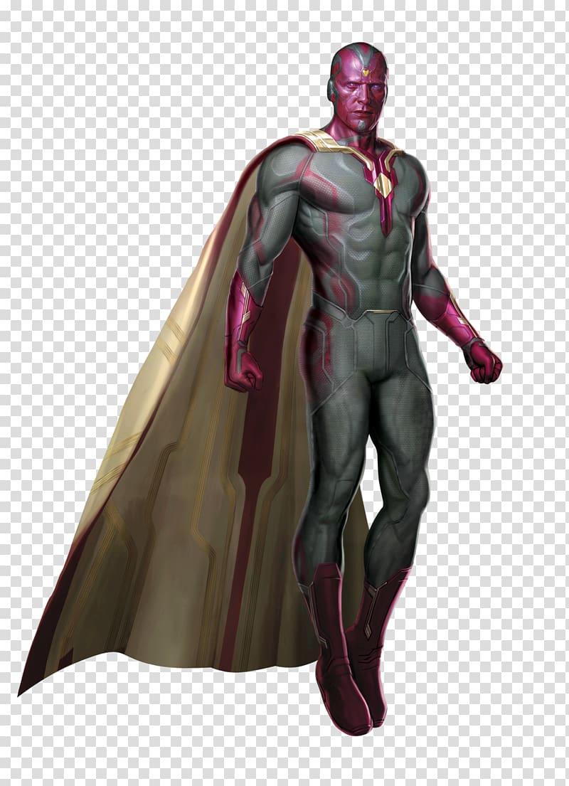 Marvel Vision illustration, Marvel: Avengers Alliance Vision.