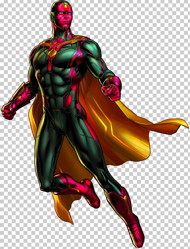 Vision Marvel: Avengers Alliance Hulk Falcon Ultron PNG, Clipart.