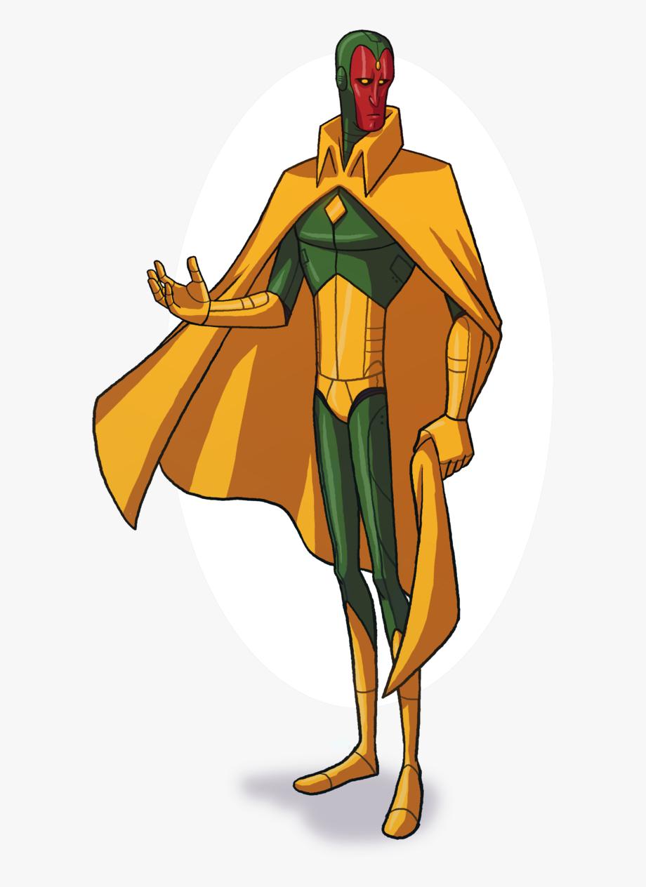 Marvel Vision Clipart Mightiest Heroes.