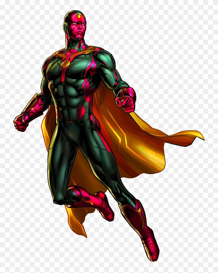 Marvel Vision Clipart Civil War.
