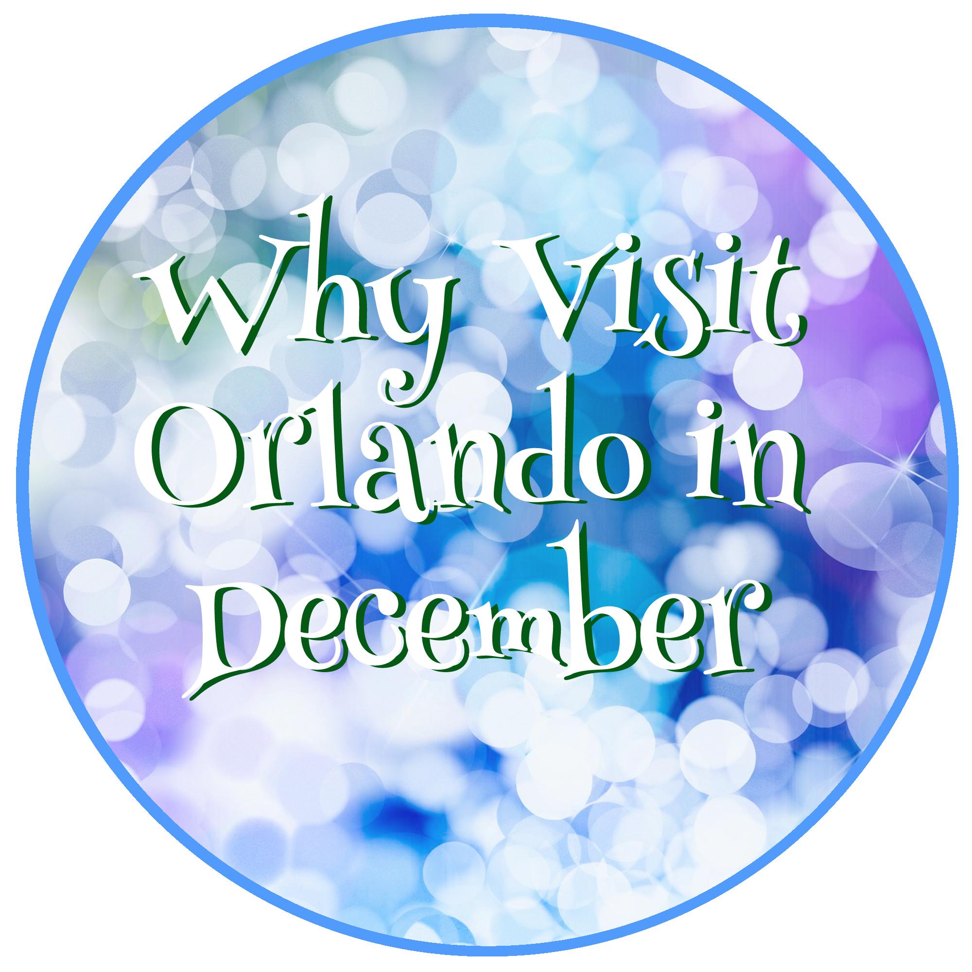 Why Visit Orlando in December.