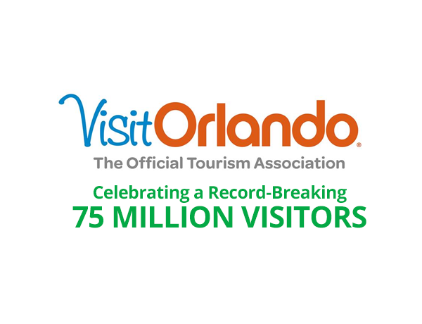 Orlando Keeps Breaking Records with 75 Million Visitors Last Year.